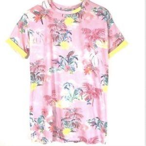 Asos T-Shirt Tropical Floral O8